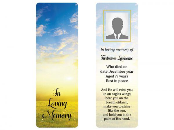 Bookmark Precious Memories Sample A1