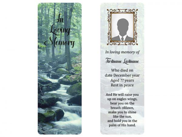 Bookmark Precious Memories Sample A2