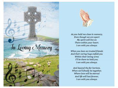Double In-Memoriam Celtic Crosse 2