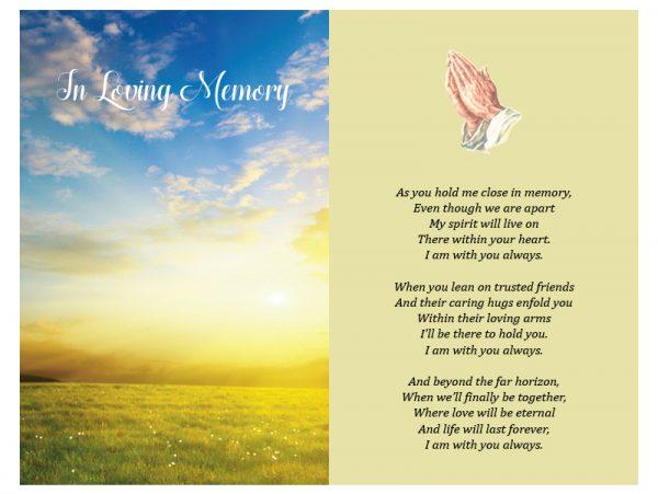 Double In-Memoriam Precious Memories 1