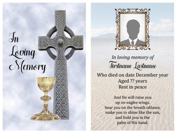 Singal In-Memoriam Religious 20