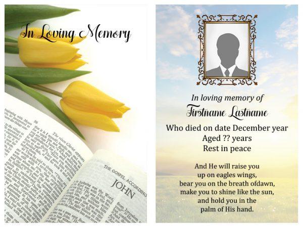 Singal In-Memoriam Religious 21