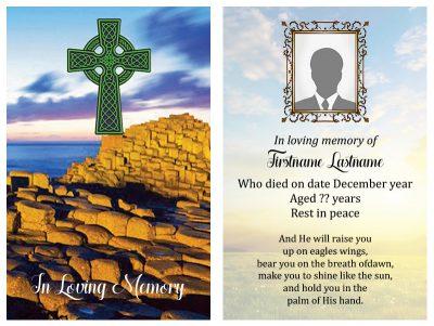 Singal In-Memoriam Celtic Crosse 1