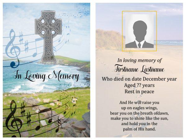 Singal In-Memoriam Celtic Crosse 2