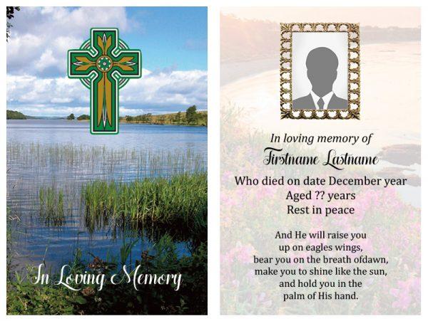 Singal In-Memoriam Celtic Crosse 3