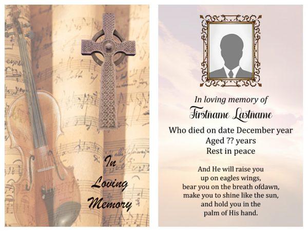 Singal In-Memoriam Celtic Crosse 5